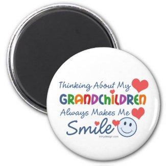 I Love My Grandchildren Magnets