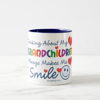 I Love My Grandchildren Mugs