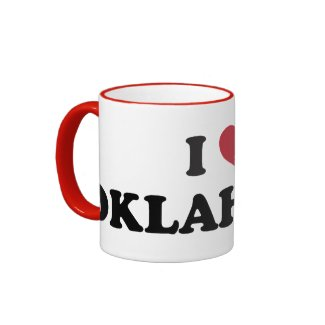 I Love Oklahoma Coffee Mug