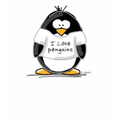 in love penguins