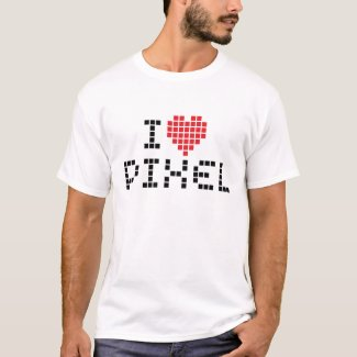 I Love Pixel T-Shirt