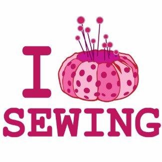 I love Sewing Bag bag