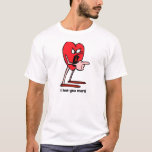 I love you for couples T-Shirt