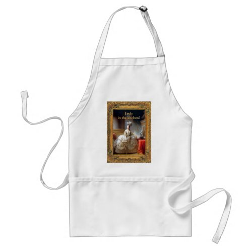 """I Rule in the Kitchen"" Apron"