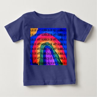 I see a Rainbow Kids T-shirt