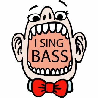 I Sing Bass Barbershop T-shirt shirt