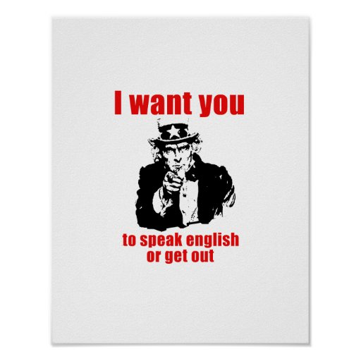 Speak English Posters, Speak English Prints, Art Prints