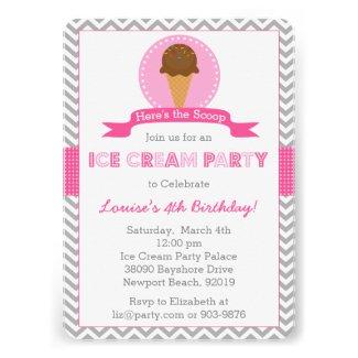 ice cream birthday party ideas