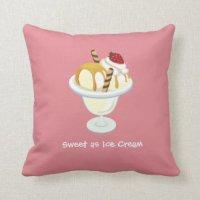 Icecream Pillows - Decorative & Throw Pillows | Zazzle