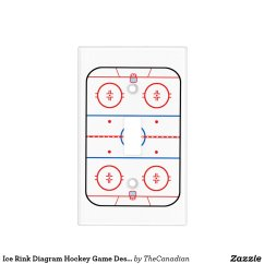 Hockey Rink Diagram Electron Dot For S Ice Game Companion Switch Plate Cover