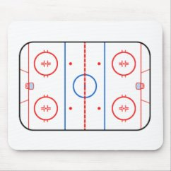 Hockey Player Diagram 2006 Chrysler Sebring Convertible Wiring Mouse Pads Zazzle Ice Rink Game Companion Pad