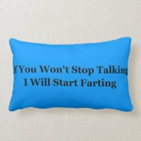 Fart Pillows - Decorative & Throw Pillows | Zazzle