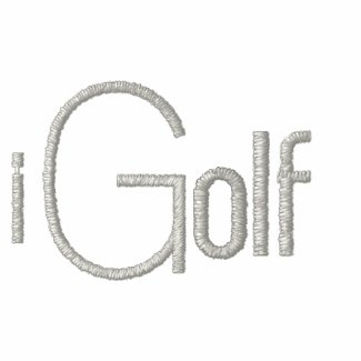 iGolf Double LongSleeve embroidered wht silvrlogo  embroideredshirt