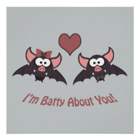 I'm Batty About you! Poster