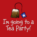 I'm Going to a TEA PARTY! zazzle_button