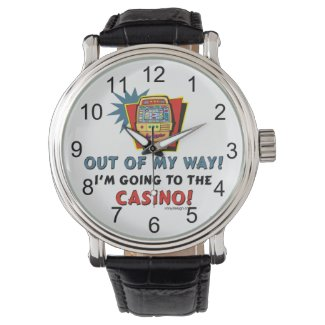 I'm going to the Casino! Wristwatch