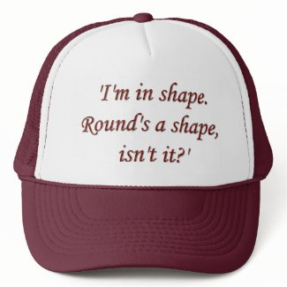 Im In Shape Cap hat