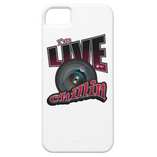 I'm LIVE Chillin: Social Video Streaming iPhone SE/5/5s Case