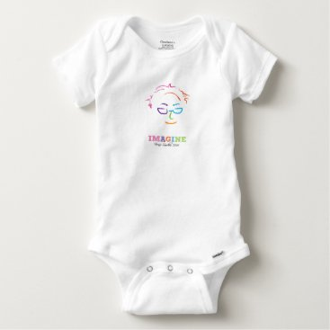 Imagine Bernie Sanders 2016 Baby Onesie