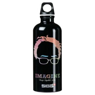 Imagine Bernie Sanders 2016 Water Bottle