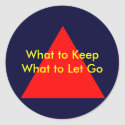 What to Keep What to Let Go The MUSEUM Zazzle Gift