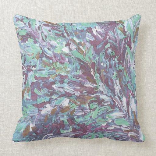 Impressionist Throw Pillow 20 x 20  Zazzle