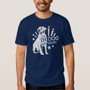 In Dog We Trust Graphic T Shirt