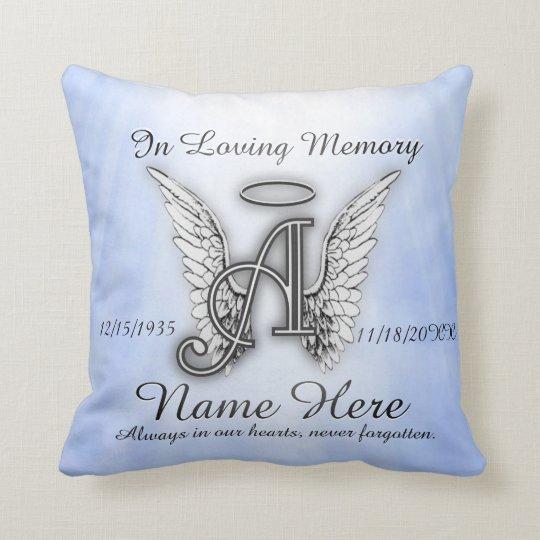 In Loving Memory Memorial Comfort Throw Pillow  Zazzlecom