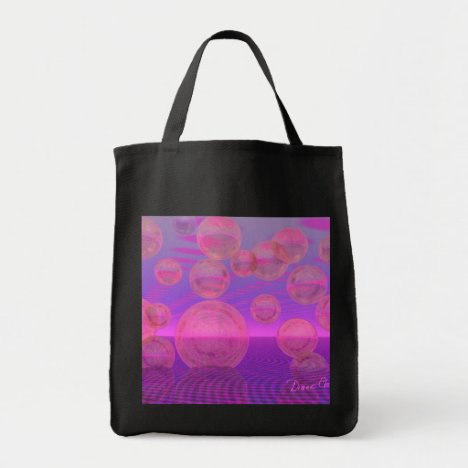 In the Zone – Rose & Amethyst Voyage Tote Bag