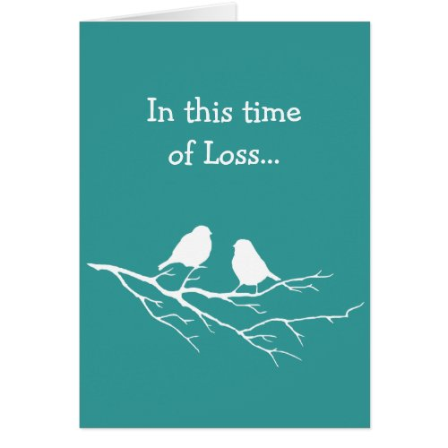 In this Time of Loss Scripture Comfort Little Bird