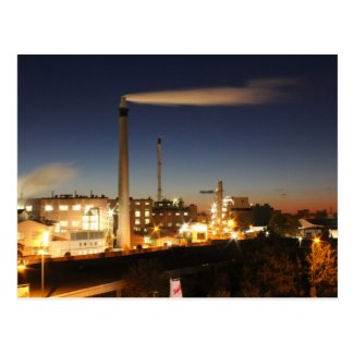 Industry at Night Post Cards