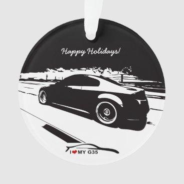 Infiniti G35 Coupe rolling shot Ornament