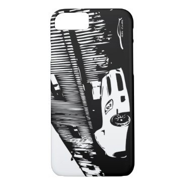 Infiniti G35 Coupe Side shot Graphics iPhone 8/7 Case
