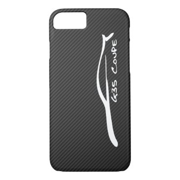 Infiniti G35 Coupe White Silhouette Logo iPhone 8/7 Case