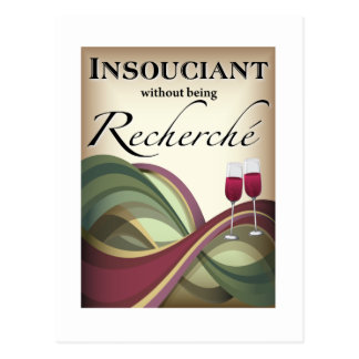 Insouciant, Without Being Recherché Postcard