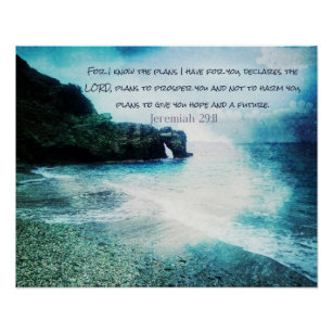 Bible Verses Posters Zazzle