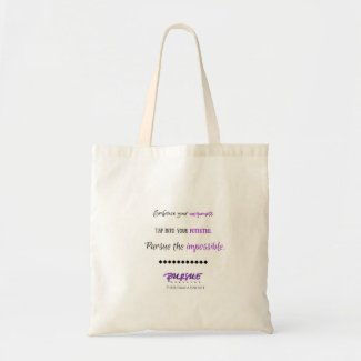 Inspirational Quote for Teen Girls Budget Tote Bag