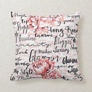 Inspired Life Throw Pillow