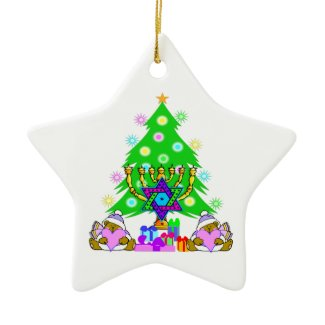 Interfaith Holiday Fun ornament