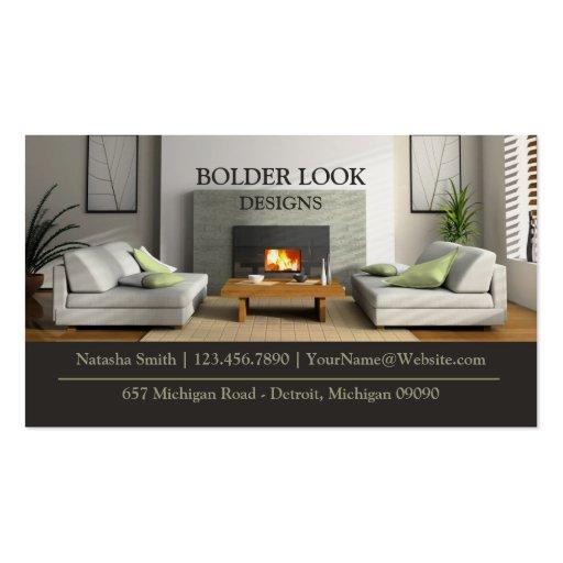 Interior Design Business Card  Zazzle