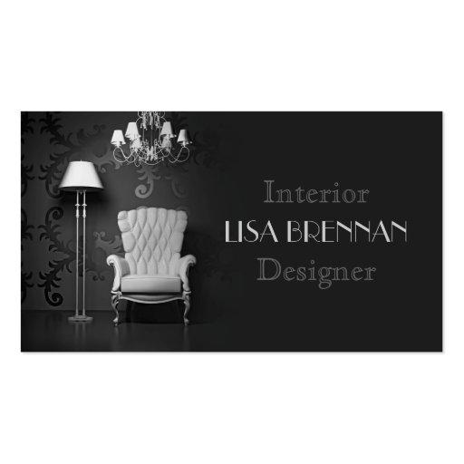 Interior Designer Business Card Template  Zazzle