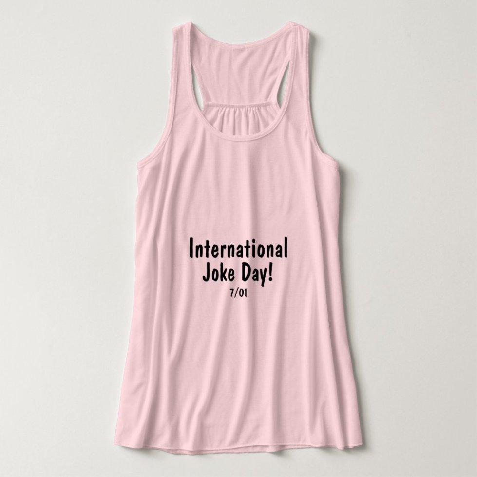 International Joke Day - t shirt