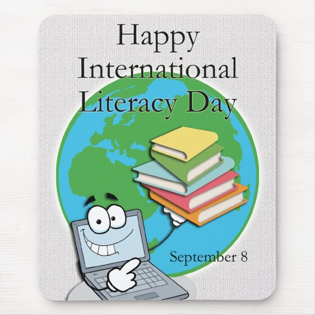 International Literacy Day September 8 Mouse Pad
