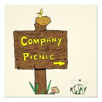Invitation Corporate Company Picnic