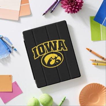 Iowa Logotype with Hawkeye iPad Smart Cover