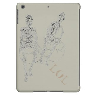 iPad Case Skeltie the Skeletons LOL Funny