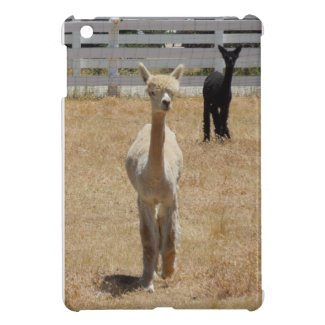 ipad mini: Two alpacas iPad Mini Covers