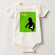 ipoop baby t-shirt