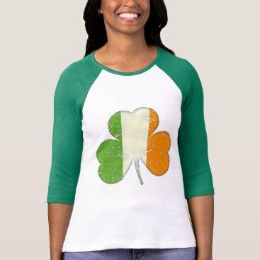 Ireland Flag Shamrock T-Shirt