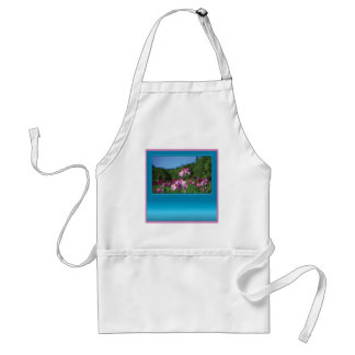 Iris of the Field Customizable Aprons